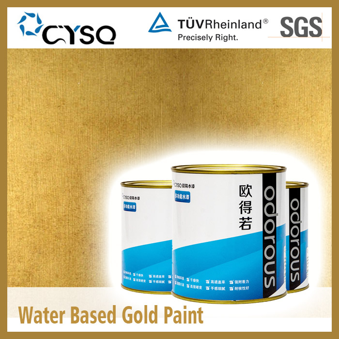 Water Based Gold Paint For Metal Buy Gold Paint For Metal Product On