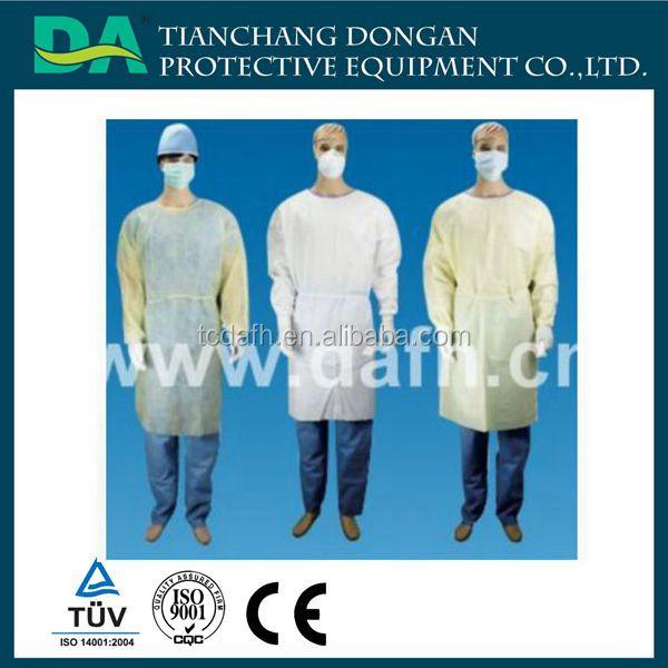 Cerrahi önlük/izolasyon elbisesi/tek elbisesi satılık