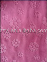 New products Printed Fabric fdy spandex print fabric polka dots