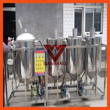 130KG/H XXJL-75D Small edible oil refining machine Cooking oil refining mill/Small crude oil refinery equipment