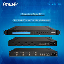 8 in 1 mpeg4 h264 encoder (8xHDMI,ASI in; 2xASI,IP-MPTS,IP-SPTS out) tomT03