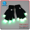 flash color changing led glove light up glove for party
