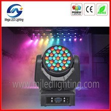 Hot 37pcs Sound actived moving head led 150w
