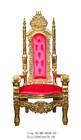 Md-0029-01 Antique ouro rei cadeira do trono na venda quente