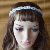 Bridal band with Beaded Decorated wedding accessories Romantic Headband bride bridal pearl beaded Headband