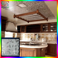 Kitchen ,bathroom,Living room decorative suspended aluminum ceiling tiles