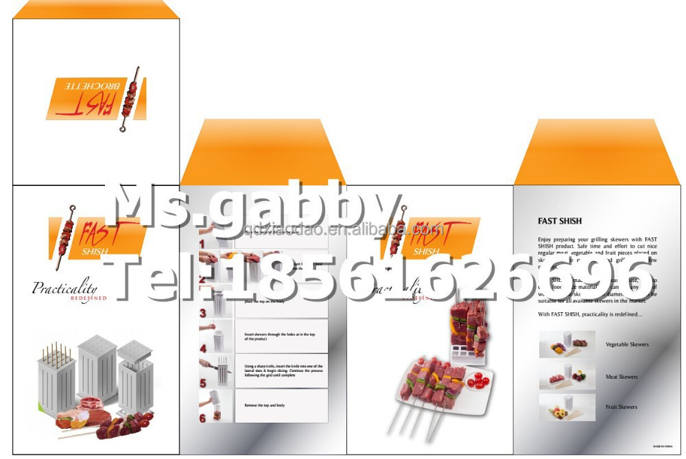 Kabob Meat Cut Box Kabab Meat Cutting