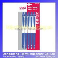 Ball pen smooth writing ball pen retractable ball pen