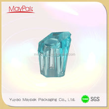 The most complete colors for glass bottle glass parfum bottle with surlyn cap