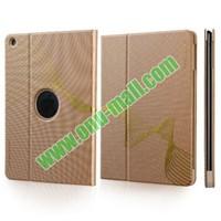TOTU Design Golden Series Smart Wake Sleep Function Flip Stand PC and PU Leather Case for iPad Mini iPad Mini Retina