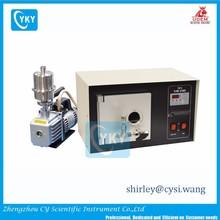 "Medium Plasma cleaning system with Vacuum Pump , 6""Dx 6.5"" L Quartz Chamber 13.56 Mhz, 30W max. - EQ-PCE-6"