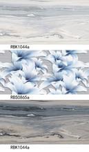 3D design inkjet glazed tufted tiles