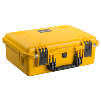 Durable pp hard disk carrying waterproof case