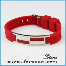 colorful silicone bracelet silicone ion sport bands
