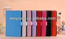 Diamond Genuine Leather Case For iPad mini