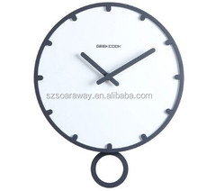 Round Blank wooden Wall Clocks With Photo Frame