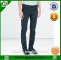 servicio del oem nuevo diseño de moda de chicos y hombres suave slim fit de punto en blanco jeans de mezclilla
