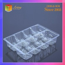 Good Quality Novelty Clear Tray Small Clear Hard Plastic Boxes