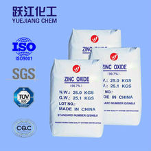 ISO9001 approved 99.7% zinc oxide with best price