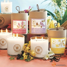 All Natural Candle Supply No Smoking Long Lasting Scent Private Label Perfume Candle