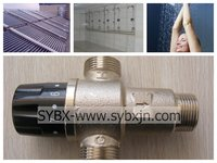 """3/4"""" brass water heater thermostatic mixing valves(China manufacturer)"""