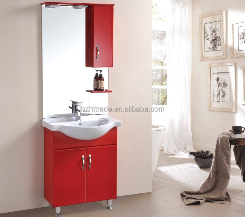 cheap red plastic pvc standing bathroom cabinet vanity buy cheap red plastic pvc standing