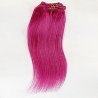 BSD Top sale factory price natural indian remy clip in human hair extension for vogue people