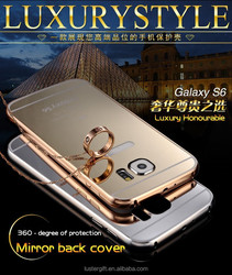 Factory outlet ! luxury case for samsung galaxy S6 , metal mobile phone case