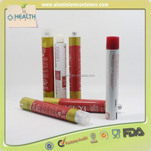 Beautiful-designed Cylinder Hair Color Dye Cream Aluminium Tube