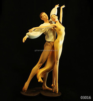 Polyresin Romeo and Juliet Dance craft supplies of nude dancing couple