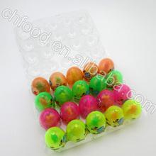 boa venda de plástico luz ovo com brinquedo dentro de doces do brinquedo