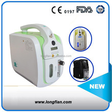 CE&FDA Approved Portable Oxygen Concentrator with AC and DC12V, Trolley Bag/portable oxygen concentrator
