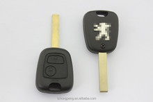 peugeot 307 remote key shell factory direct uncut blade car key case for Peugeot