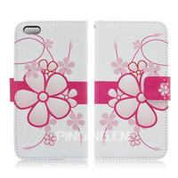 """for iphone 6 case leather ,for iphone 6 case wallet,cell phone case floral leather protective case for iphone 6 4.7"""""""