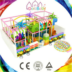 HSZ-K35 Theme Park Kids Slides Indoor Soft Play Equipment Gym Equipment