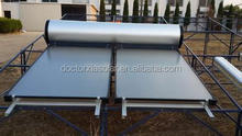 solar thermal system supplying domestic hot water