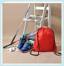 JNbags 34*43cm silk printing drawstring double side backpacks School Bag