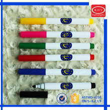 Promotional Colored Washable Ink Fabric Medium Textile Marker Pen for Painting