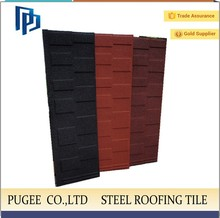 good fire resistance decorative metal roof tile for roof made in china