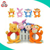 2015 High Quality Baby Wrist Rattle Toys Plush Hand Bell Ring For Infant