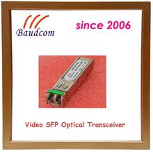 1.485Gbps Video SFP fiber optic transceiver with 1310nm FP laser