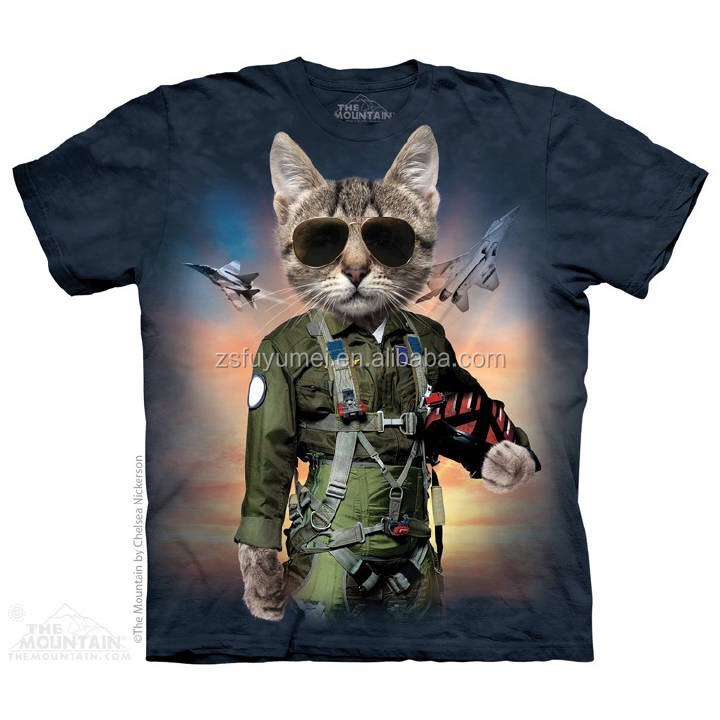 3d printing t shirts wholesale china high quality print T shirt printing china