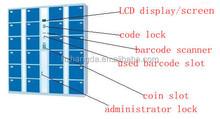 Waterpark electronic storage locker/Intelligent Logistic Parcel Delivery Locker