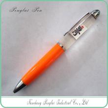 OEM 3d floater PVC LOGO promotional liquid floating pen