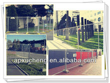 Galvanized temporary fence/mobile fence/portable fence(factory CE & ISO)