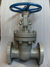 cast steel rising stem gate valve with drawing