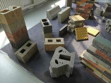 Дешевые летучая зола бетона блок машина / небольшой блок делая машины / полуавтоматический блок конкретной машины QM8