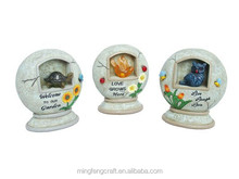 Gifts & Decor Solar Round Ball Trio Garden Path Lighting