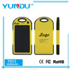 Top Selling Outdoor Solar Charger T011 5000mAh for Cellphones with Amazing Price