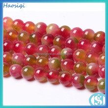 Alibaba golden supplier genuine natural stone bead,red gemstone string bead ,chalcedony bead